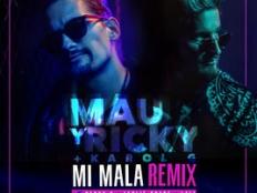 Mau y Ricky & Karol G feat. Becky G & Leslie Grace & Lali - Mi Mala (Remix)