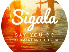 Sigala feat. Imani, DJ Fresh - Say You Do