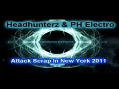 Ph Electro & Headhunterz - Attack Scrap In New York
