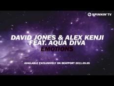 David Jones & Alex Kenji feat. Aqua Diva - Emotions