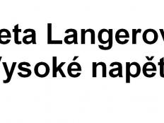 Aneta Langerová - Vysoké napětí