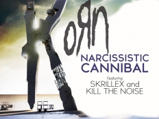 KoRn feat. Skrillex and THE NOISE - Narcissistic cannibal