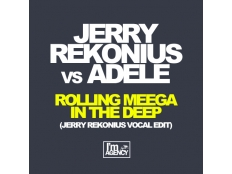 Jerry Rekonius vs. Adele - Rolling Meega In The Deep (Jerry Rekonius Vocal Edit)